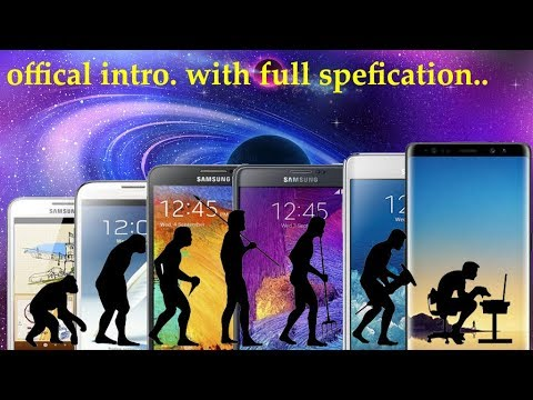every samsung galaxy note 1 to 8 all OFFICIAL TRAILER with full specification