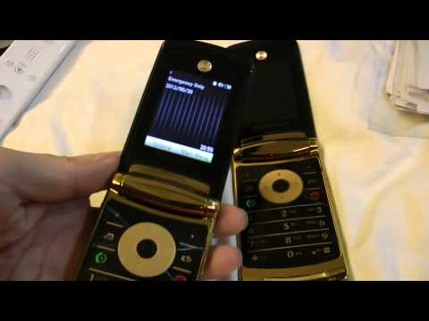 Replica Motorola V8 Luxury Gold Edition