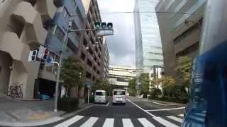 【車載動画】東京都中央区日本橋箱崎町をウロウロ走った
