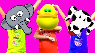 Dancing Like an Animal | Songs for Kids by Baa Bee | Best English Songs for Children