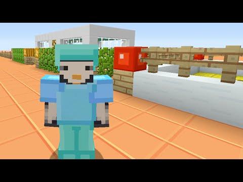Minecraft Xbox - Stampy Flat Challenge - Suited Up [Part 11]