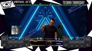 Virtual DJs Presents Techno Thursday - DKLUB Live 15/04/21