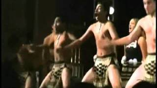 New Zealand Maori Kapa haka dance