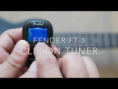 Fender FT-1 clip-on tuner