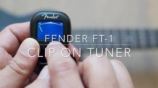 Fender FT-1 clip-on tuner