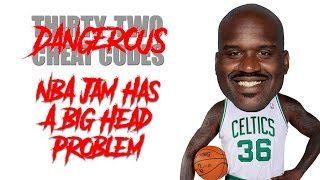 NBA Jam Has a Big Head Problem (Cheat Code #17)