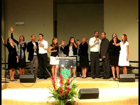 Brazilian Temple Worship Team - Made me glad