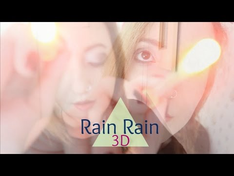 ☂Rain Rain☂ BINAURAL ASMR MISOPHONIA RELIEF (Sub ES) Visual Triggers, Thunderstorm Sounds ☂