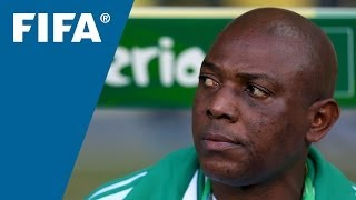 What my number means: Stephen Keshi