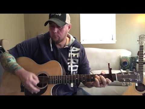 Jesus and Jack Daniels - Justin Moore (acoustic karaoke cover) (lyrics in description) Mp3