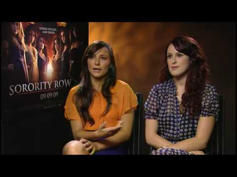 Sorority Row Interview with Rumer Willis and Briana Evigan ...