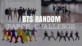 [MIRRORED] BTS RANDOM DANCE CHALLENGE