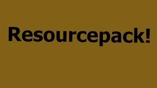 Resourcepack und Auflösung des Rätsels