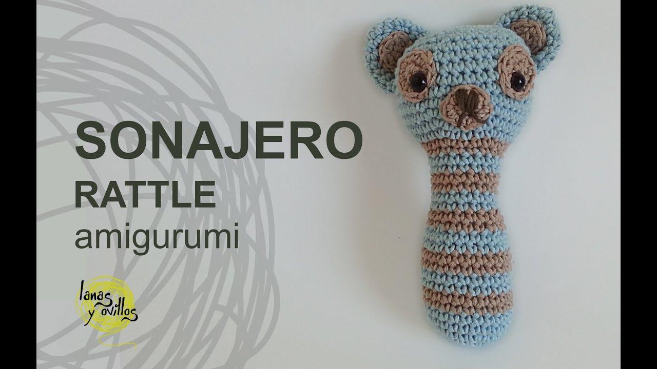 Sonajero elefante de Crochet | Quesecose | 720x1280
