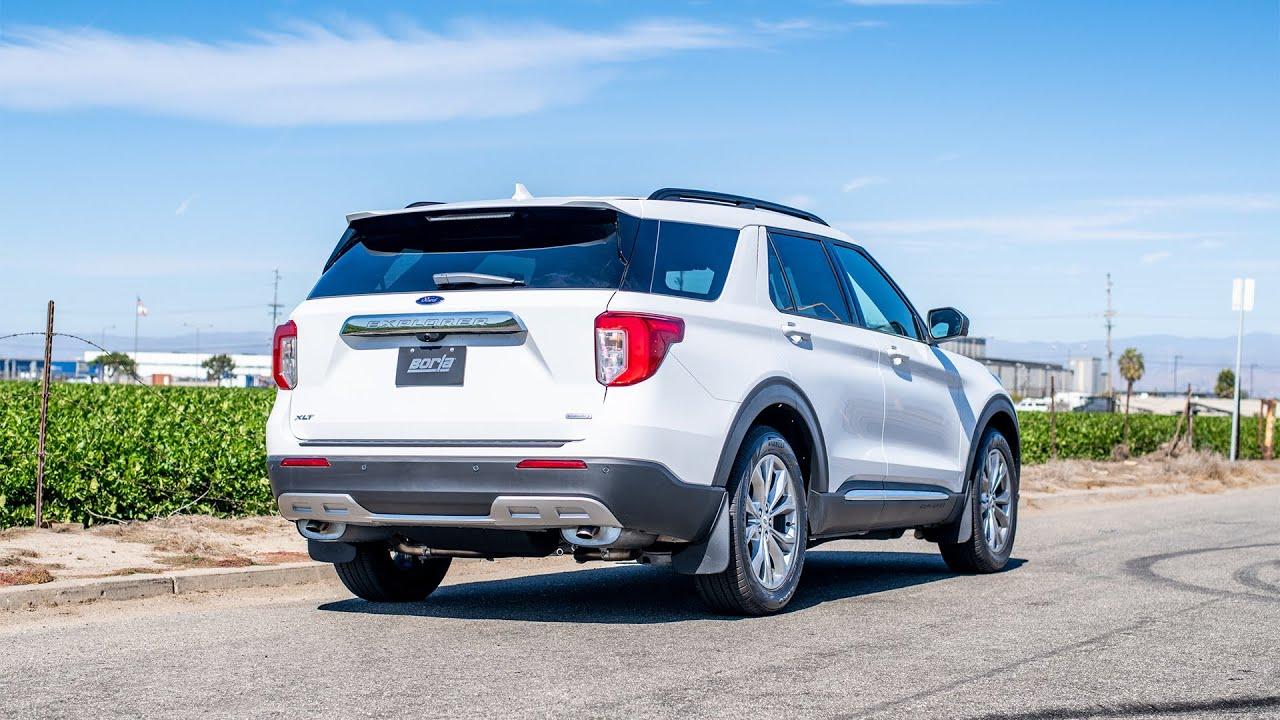borla exhaust for 2020 2021 ford explorer xlt 2 3l ecoboost