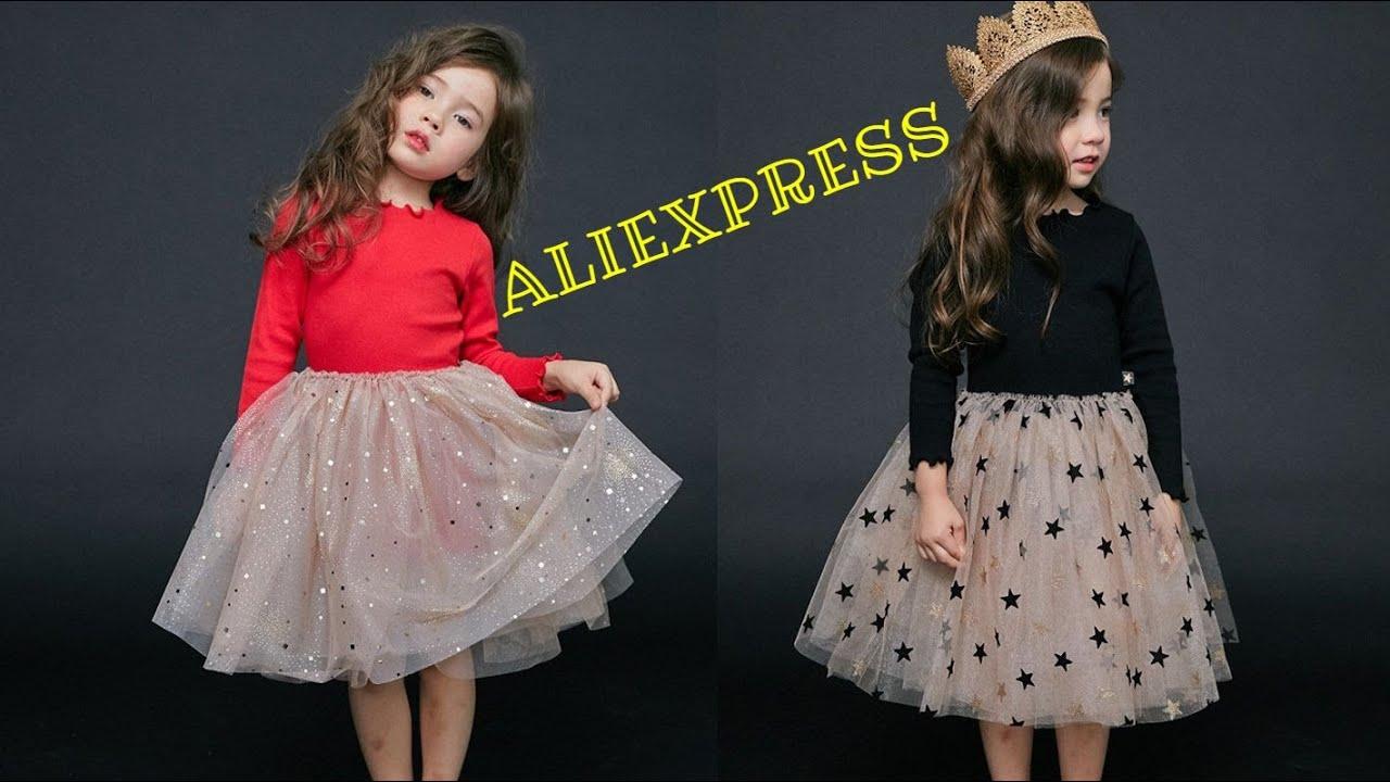 7 Детские платья с Алиэкспресс 2020 Aliexpress Children's dresses Модная детская одежда из Китая Топ