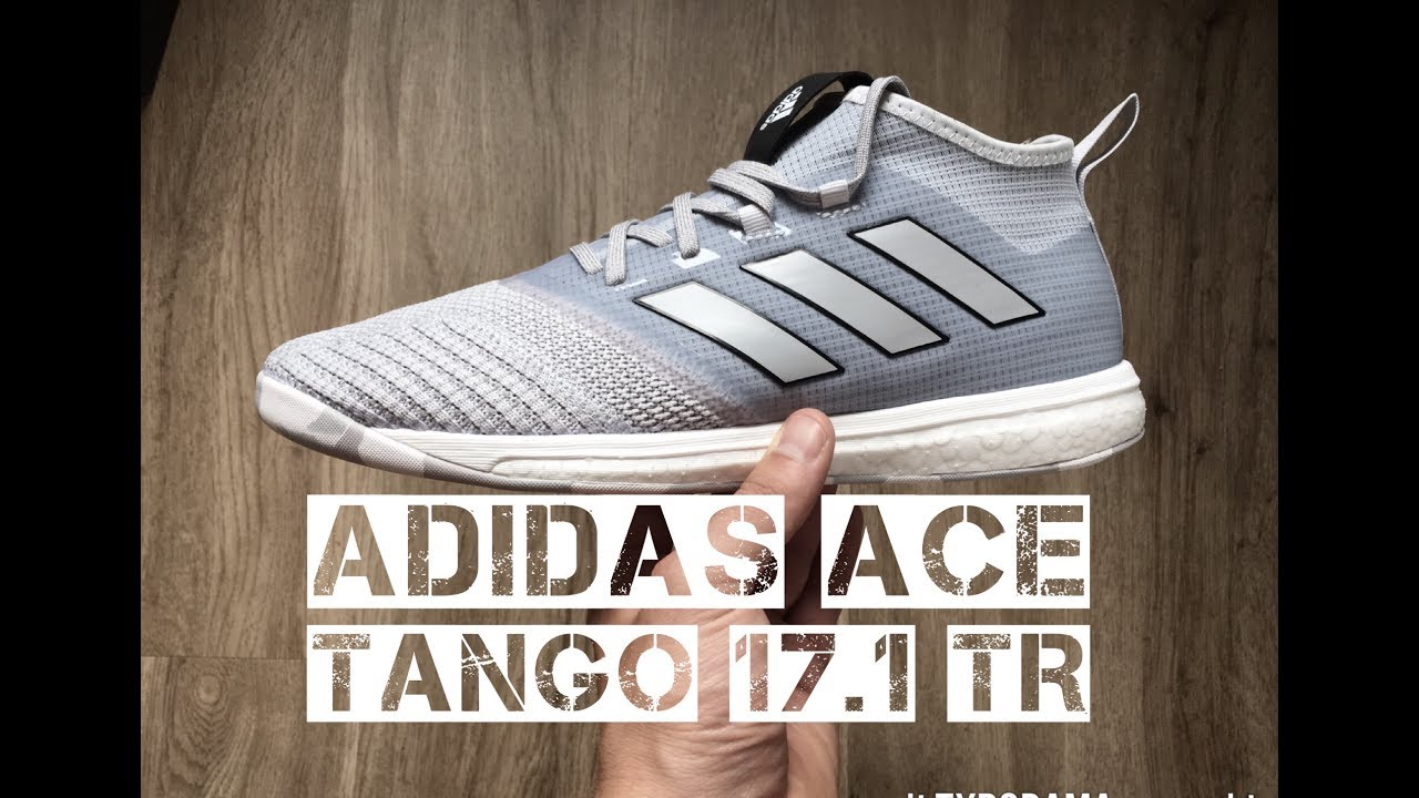 more photos 66b3f 27df6 Adidas ACE Tango 17.1 TR 'Clear Grey /Mid Grey' | UNBOXING & ON FEET |  football boots | 2017 | HD
