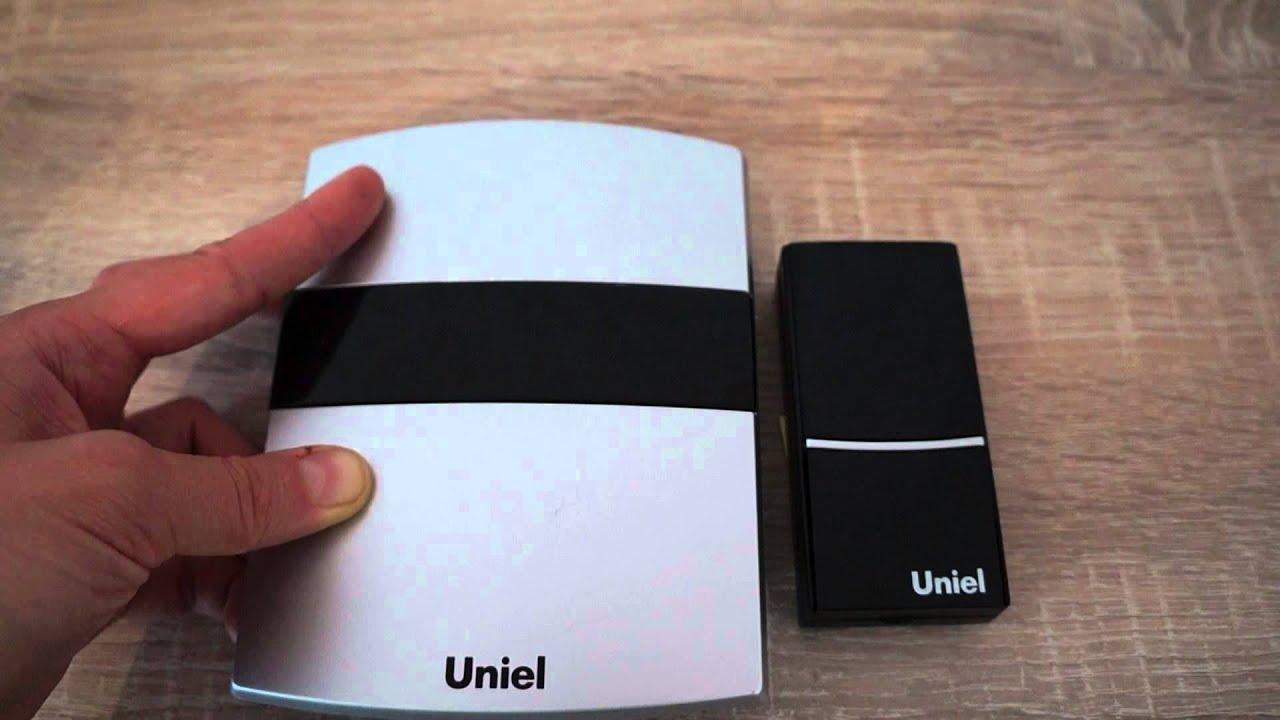 инструкция к беспроводному звонку uniel