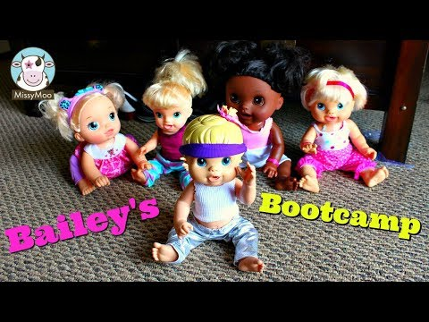 Baby Alive Bailey's Bootcamp Class