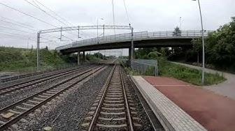 Cabview Lahti - Helsinki in 4 minutes, Z-train Sm4 - EMU