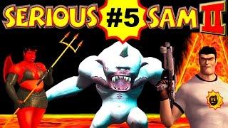 Serious Sam 2: Скелеты На Планете Клир, Часть 5 (ВСЕ СЕКРЕТЫ) Крутой Сэм 2 прохождение