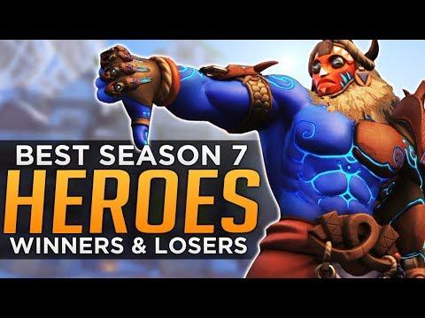 Overwatch: BEST & WORST Heroes for Season 7