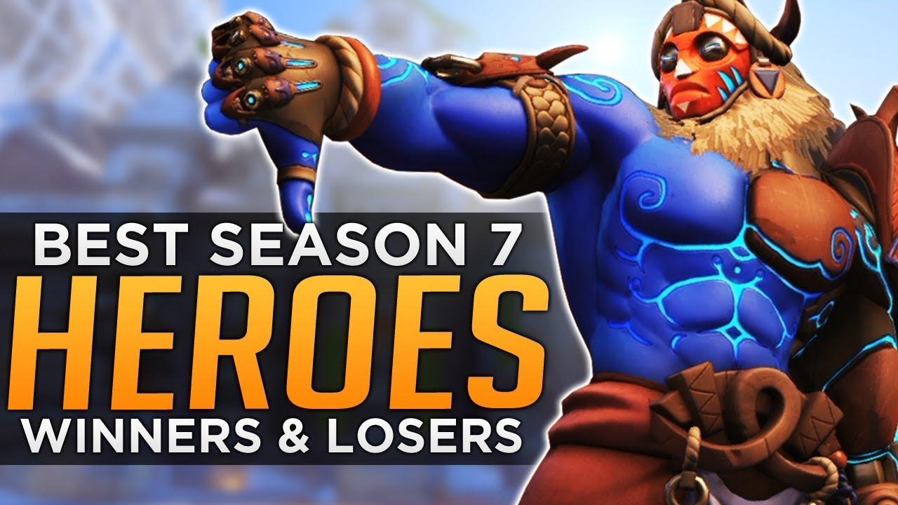 Overwatch Best Worst Heroes For Season 7 Youtube