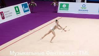 МУЗЫКАЛЬНЫЕ ФАНТАЗИИ ОТ TML.  RGYM RUSSIA Lala Kramarenko - Clubs Z