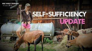 My dream of Self-sufficiency -Update -New animals- Vegetable Garden- Vanessa Blank- 4k