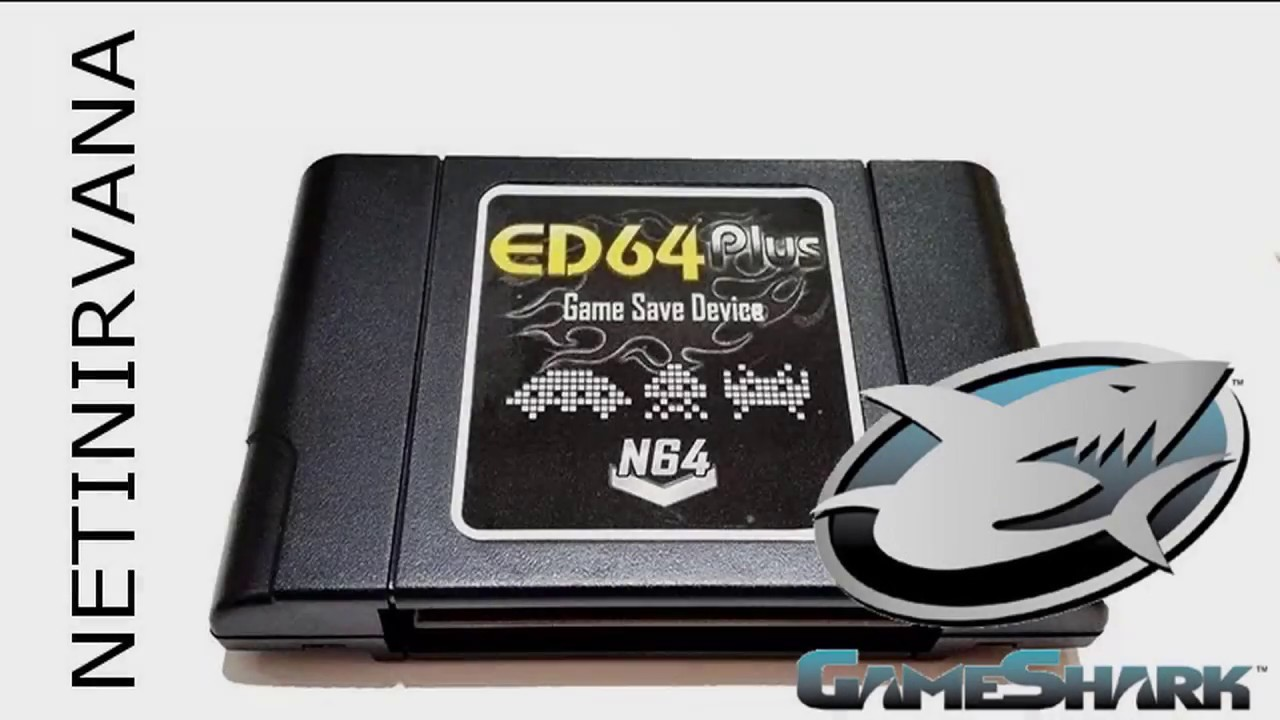 ED64 Plus Game Shark - Cheats on chinese EverDrive 64