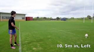 Goal Kicking Practice