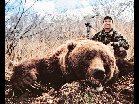 WORLD RECORD BROWN BEAR With A Bow!  Bob Fromme | Kodiak Island