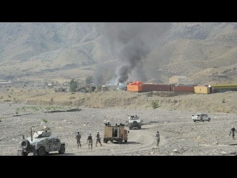 Afghan Taliban attack US base near Pakistan border: officials