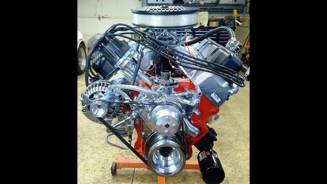 hight resolution of 440 chrysler mopar engine building part 11 water pump alternator chrysler 440 distributor wiring