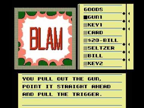 Deja Vu (NES 1990 Kemco) Longplay - No Commentary