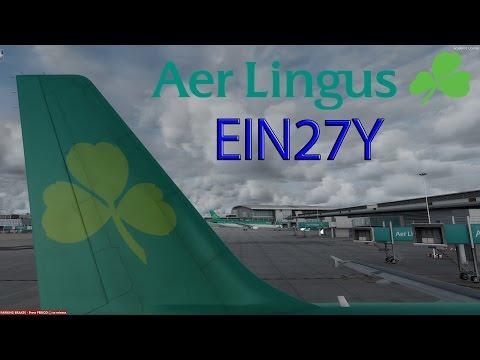 P3D V3 | VATSIM | Birmingham - Dublin | EIN27Y | Full Flight