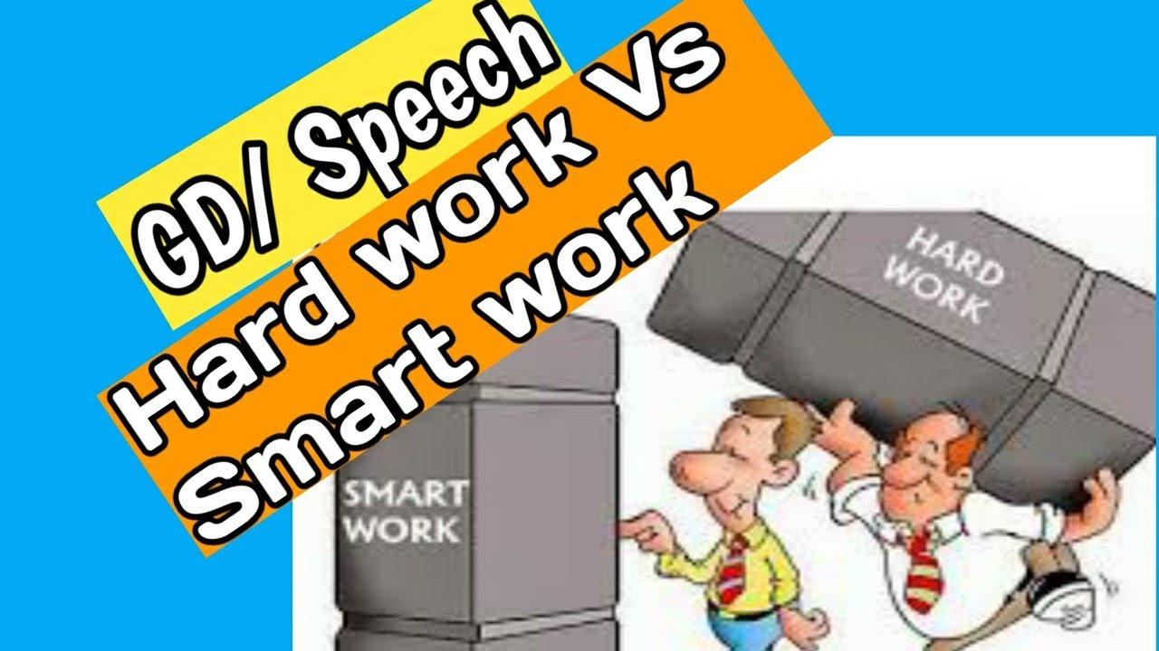 Smart work vs Hard work | Group Discussion in English | Group Discussion topics | GD topics