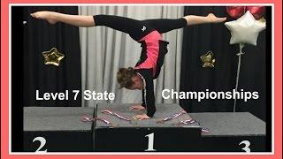 Level 7 State Gymnastics Meet + Bonus Clips | Flippin