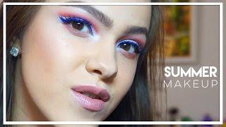 видео Летний макияж для карих глаз: тенденции, косметика