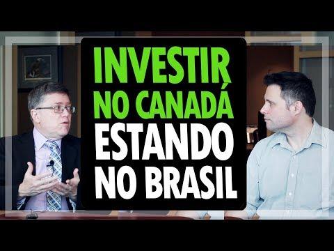 PODE INVESTIR NO CANADÁ AINDA NO BRASIL? - INVESTIMENTOS NO CANADÁ #18