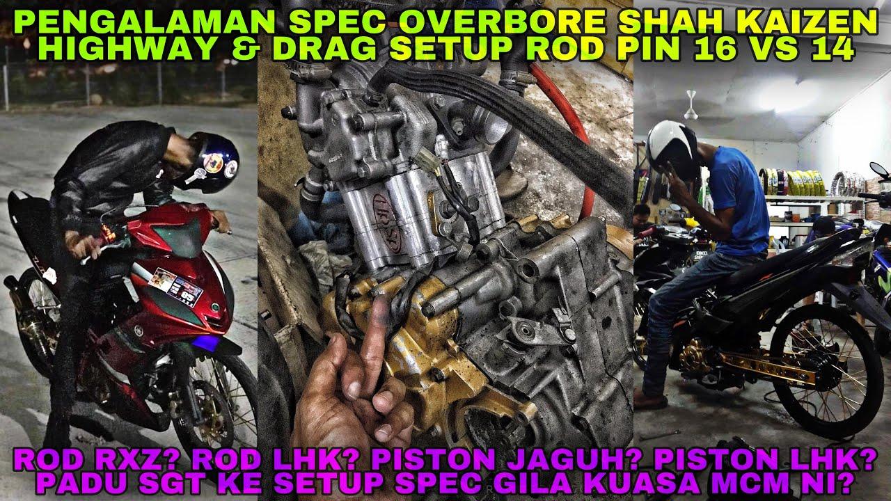 PENGALAMAN SPEC OVERBORE SK | 76MM BLOCK + 12MM STROKE | 401M 190KMH