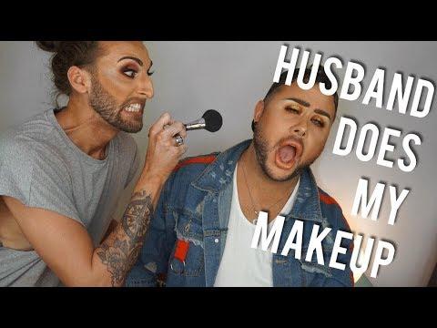 HUSBAND DOES MY MAKEUP feat. MARC SINCLAIR MUA | ALLAN CRAIG