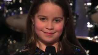 Niña de 6 años Cantando Black Metal! ( COMPLETO)