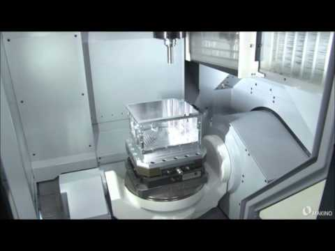 DA300 5-Axis VMC Reduces Machining Time for Complex Parts