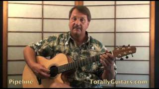 The Chantays - Pipeline Guitar lesson