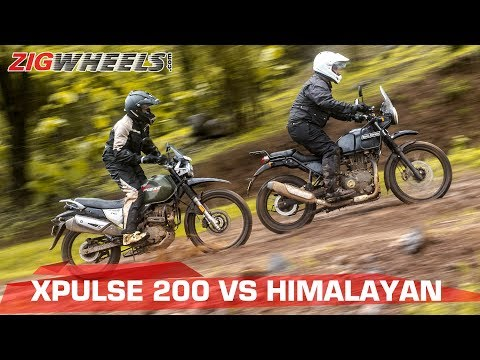Hero XPulse 200 vs Royal Enfield Himalayan | Comparison Test | ZigWheels.com