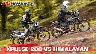 Hero XPulse 200 vs Royal Enfield Himalayan   Comparison Test   ZigWheels.com