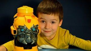 Огромный Бамблби - Игрушки Трансформеры на русском языке. Transformers Bumblebee