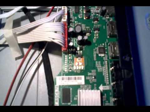 RCA 39LB45RQ LCD TV. EEPROM Repair on main board - YouTube on