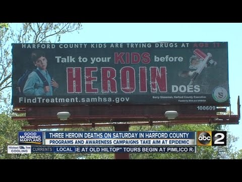 3 heroin deaths on Saturday in Harford County